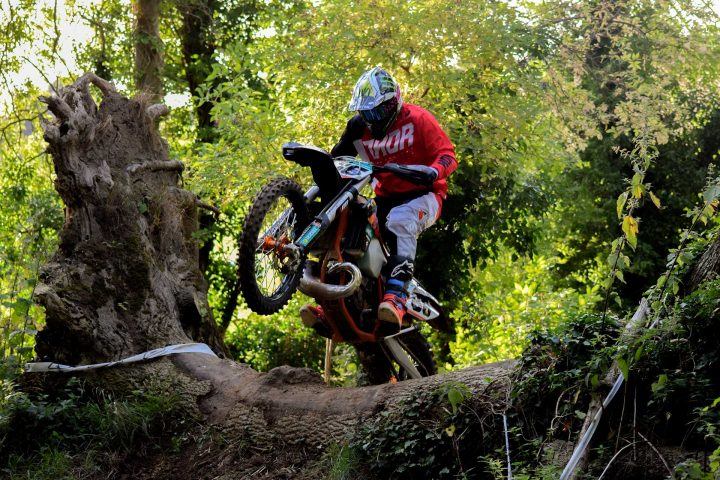 Enduro track in Dorchester
