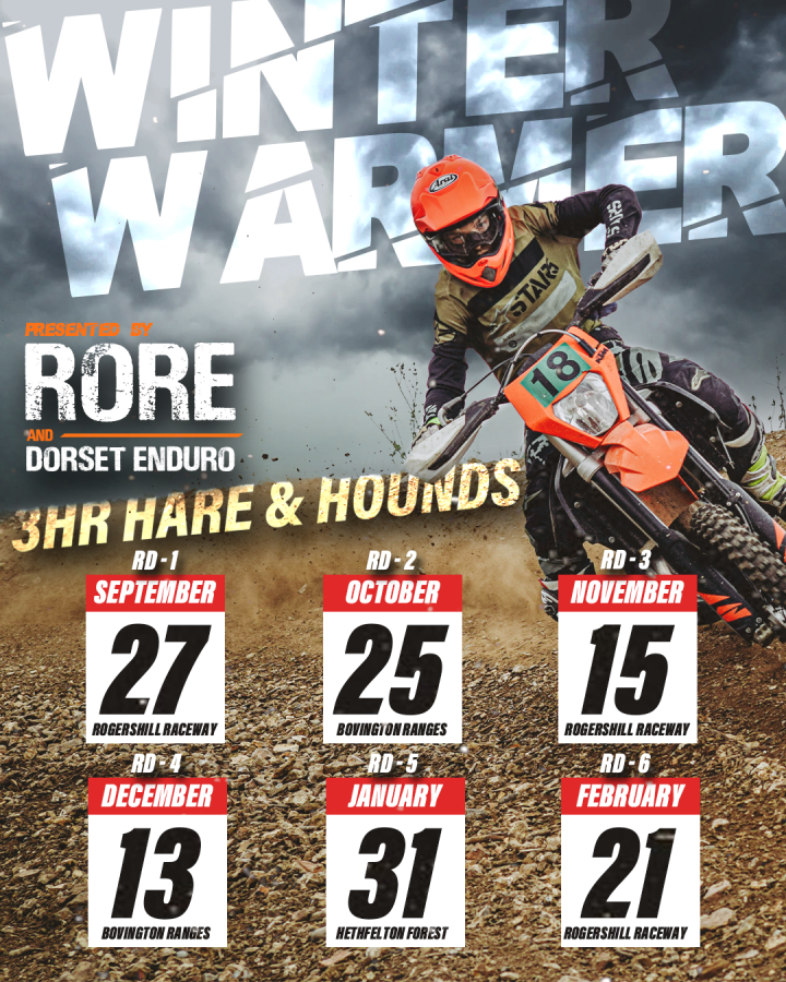 WINTER SERIES ROUND 1 RIDER LIST AND INSTRUCTIONS